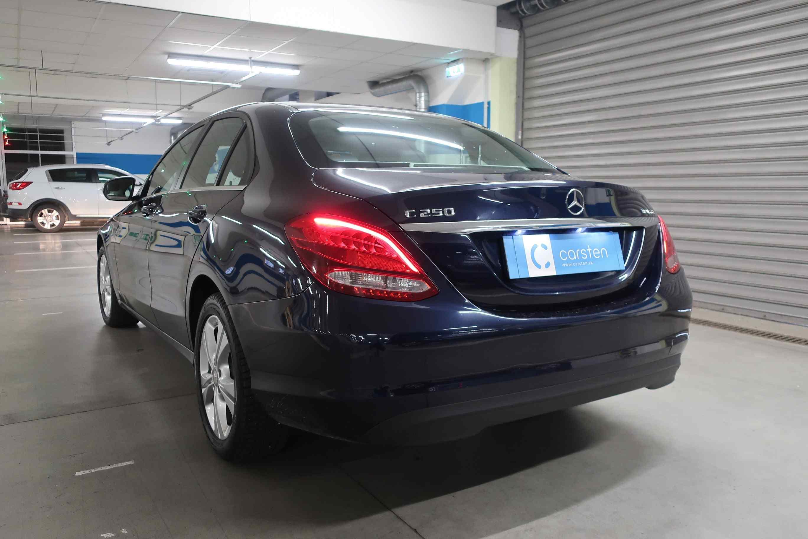Mercedes C 250 CDI Bluetec 4matic