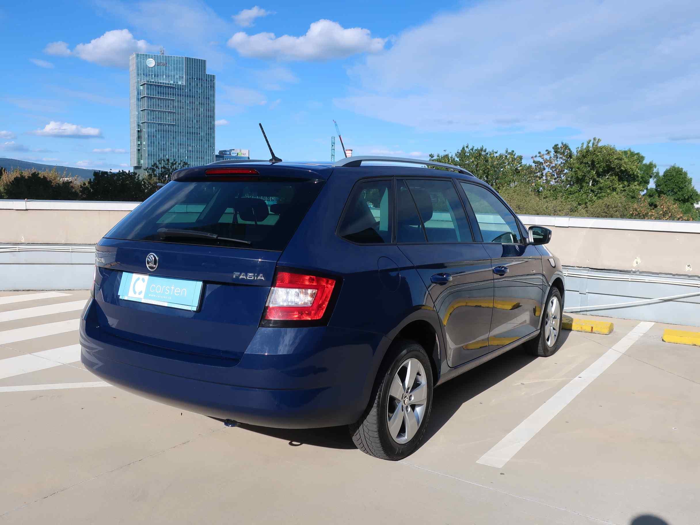 Škoda Fabia III Combi 1.4 TDI Ambition